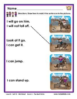 Half-Pint Kids Books Printables for Beginning Readers Set 12 Book 5 Best Tricks
