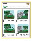 Half-Pint Kids Books Printables for Beginning Readers: Set 4, Book 4 Mud