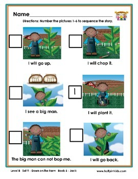 Half-Pint Kids Books Printables for Beginning Readers: Set