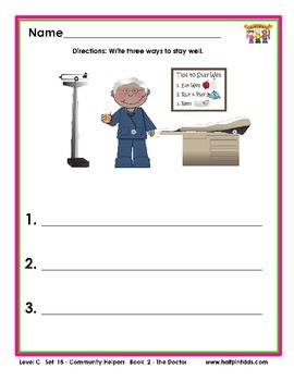 Half-Pint Kids Printables for Beginning Readers Set 18 Boo