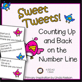 Number Line Addition and Subtraction for Spring