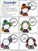Consonant Digraph Games for Winter