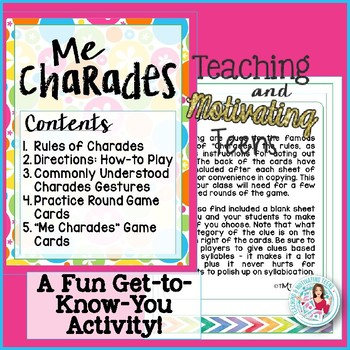 Back-to-School Icebreaker Charades Game