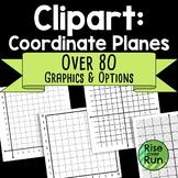 Coordinate Planes Graphs Clipart