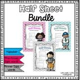 Half Sheet BUNDLE