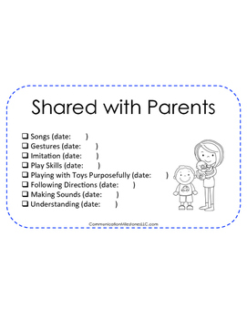 Half Sheets EI Handouts for Parents