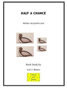 Half a Chance Book Study