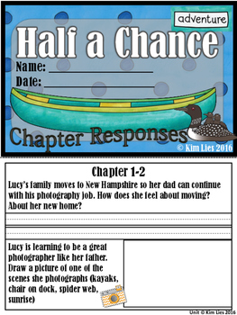 Half a Chance Guided Reading Unit