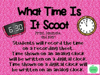 Half hour and hour Scoot