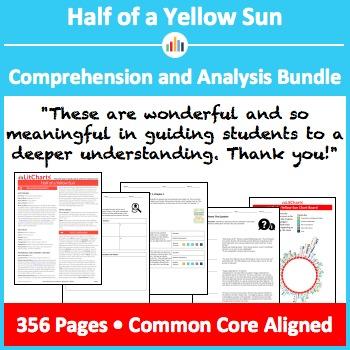 Half of a Yellow Sun – Comprehension and Analysis Bundle