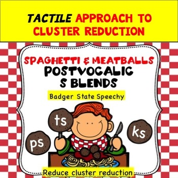 Spaghetti & Meatballs:  Postvocalic s Blends