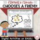 Friendly Freddy Chooses a Friend!  Social Skills.