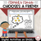 Friendly Freddy Chooses a Friend!  Social Skills & Perspective-taking