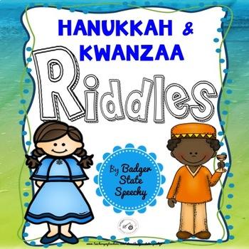 Hanukkah and Kwanzaa Riddles!