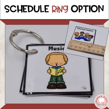 Visual Schedules and Cards, Regular and Special Ed, 2x2, Editable!