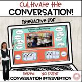 Conversation Skills No Print Activities Middle High School