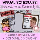 "Visual Schedules & Cards Bundle 2x2"""