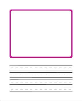 Half page manuscript Rainbow Frame!