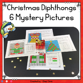 Christmas Vowel Diphthongs 6 Mystery Pictures