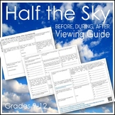 Half the Sky (Documentary) Before, During, After Viewing Guide