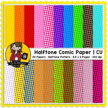 Halftone Comic Papers (CU)