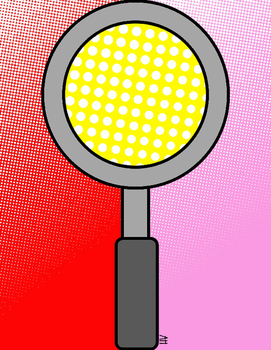 Halftone Comic Pop Art Digital Paper 2 {Paper Overlays for CU}