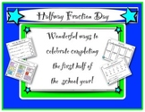 Halfway Fraction Day Halfway Through the Year Activities!