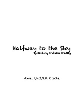 Halfway to the Sky Novel Unit