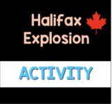 Halifax Explosion- Crime Scene Podcast Listening Activity