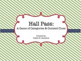 Hall Pass: A Game of Categories and Context Clues