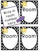 Hall Pass Black and White Polka Dot