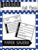 Hall Pass *FREEBIE
