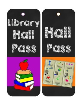 Hall Pass Freebie
