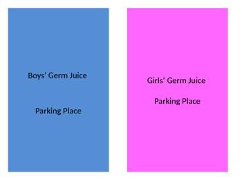 Hall Pass / Germ Juice Parking Spots