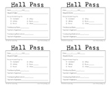 Hall Pass (Horizontal)