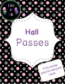 Hall Pass Polka Dot theme