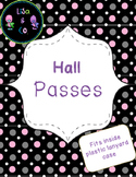 Hall Pass Polka Dot theme