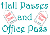 Custom Hall Pass Tags