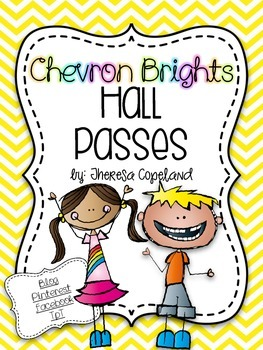 Hall Passes {Chevron Brights}