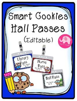 Hall Passes (Editable)