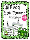Hall Passes ~ Editable