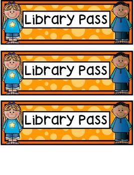 Hall Passes - Kids Theme - Kids Hall Passes