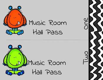 Hall Passes   Music Monsters