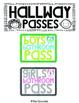 Hall Passes {Owl Theme}