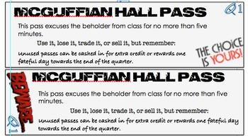 Hall Passes - Quarterly