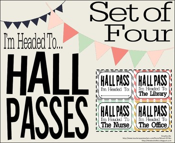 Hall Passes Set