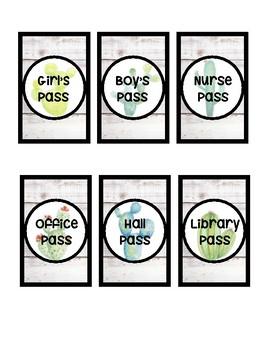 Hall Passes - Variety Pack