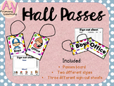 Hall Passes for grades K-5