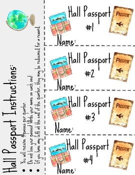 Hall Passport