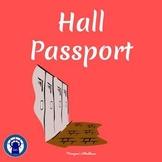Hall Passport Template